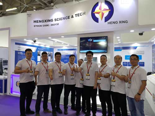Hengxing at the China International Exhibition on Rubber Technology